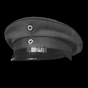 Antique image of a Zeppelin captain's hat